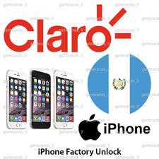 CLARO GUATEMALA IPHONE 5 5s SE 6 6+ 6s 6s+ 7 7+ 8 8+ UNLOCK CODE