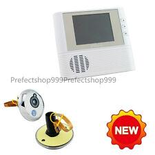 "2.8"" LCD Monitor Digital Door Peephole Viewer Home Security Camera Cam Doorbell"