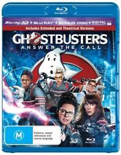 Ghostbusters 3D : NEW Blu-Ray 3-D