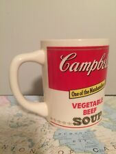Vintage Coffee Cup Mug Advertising Campbell's Vegetable Soup