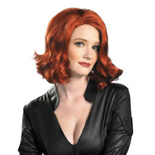 The Avengers Black Widow Wig Adult Halloween Cosplay Costume Accessory 43726