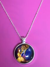 Beauty And The Beast Pendant Necklace/Pendant/Classic/FairyTale/Belle/Beast