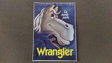 Autocollant Vintage « Jeans Wrangler » Très Bon Etat.