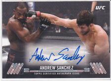 UFC MMA TUF Winner Andrew Sanchez Authentic autographed signed Auto card ESPN