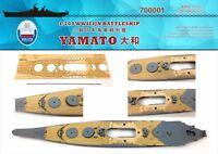 Shipyard 700001 1/700 Wood Deck IJN Yamato for Tamiya