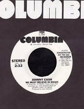 JOHNNY CASH 45 RPM COLUMBIA 38-03524 We Must Believe in Magic