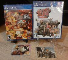 Metal Slug Anthology + XX PS4 Limited Run #352 #364 New Playstation 5 + Cards
