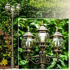 Outdoor Lampposts Garden Lantern Classic Design Bollard Lights Victorian 147834