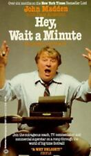 Hey, Wait a Minute (I Wrote a Book!) by John Madden with Dave Anderson GG660