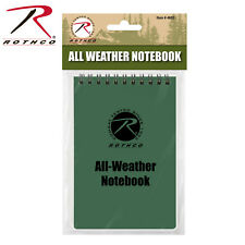 "Rothco All Weather Waterproof Notebook - 4""x6"" Olive Drab Waterproof Notepad"