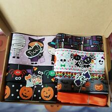 Y17 Halloween Ribbon Bundle. Job Lot Make Your Own Bows Crafts. Resins.