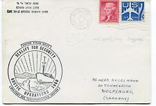 USNS Marine Fidddler Sealift for Security Arctic Operations 1960 Polar Cover