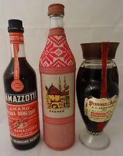 Ältere Flaschen Armanac Zagreb Ramazotti 3 Stück Barräumung