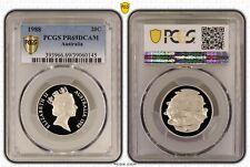 1988 Australia Twenty Cent, 20c PCGS - PR69DCAM -145 D7-237