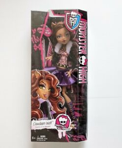 """Monster High 17"""" Clawdeen Wolf Extra Frightfully Tall Doll with Stand - Unopened"""