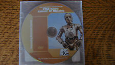 STAR WARS EMPIRE OF DREAMS EMMY DVD A&E Documentary STEVEN SPIELBERG, G Lucas ++