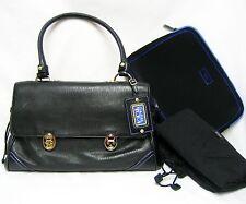 Tumi トゥミ 73201 Carlos Falchi Leather Hand Shoulder Bag Laptop Case Women Lady