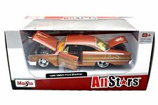 Maisto 1960 Ford Starliner Orange 1/26 Diecast Car Model 31038