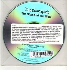 (CQ339) The Duke Spirit, The Step and the Walk - 2008 DJ CD