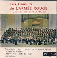 EP FOLKORE--LES CHOEURS DE L'ARMEE ROUGE--ALEXANDROV
