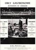 Publicité ancienne Orly gastronomie 1964 issue de magazine
