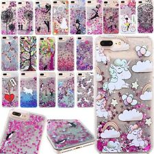 Hot! Dynamic Liquid Glitter Quicksand Pattern Case Cover For iPhone 8 6s 7 Plus