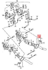 Genuine AUDI Q7 4LB Diesel Particulate Filter left 7L8254800EX