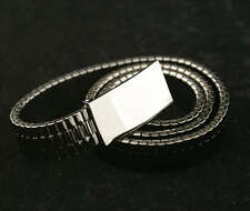 NEW AUTHENTIC MARC BY MARC JACOBS METAL WATCH BAND BELT - BLACK