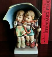 """Stormy Weather Hummel 71/1 by Goebel signed The Missing BeeTMK-6 1988, 6.5"""""""