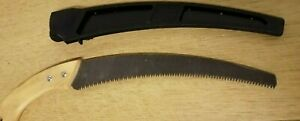 50Cm Curved Tree Pruning Saw Rigid Fixed Handle Garden Wood Pruner With Holster