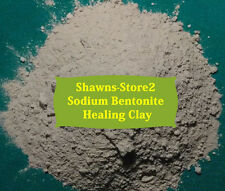 Bentonite Clay 2 lb Sodium  w/FREE Utensil