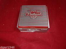 CAO FLATHEAD 660 CARB  WOOD CIGAR BOX