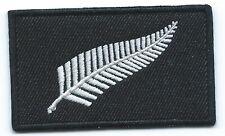Zealand Silver Fern Iron On Patch
