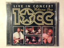 10CC Live in concert vol 1 cd SIGILLATO SEALED!!!