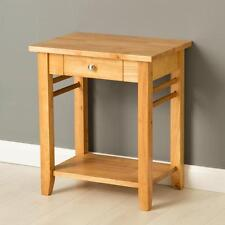Oxford Light End Table / Solid Hardwood Side Table / Oak Style Table with Drawer
