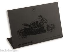 Ducati x-diavel Sketch Plexiglas Desk Stand Decoration NEW