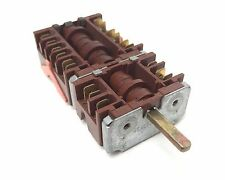 EGO 46.43866.530 Rotary Switch , 6 heat 16 amp Tab Terminals