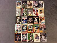 HALL OF FAME Baseball Card Lot 1980-2018 STAN MUSIAL DEREK JETER MARIANO RIVERA