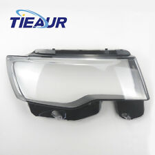 (R+L)Headlight Lens Headlamp Clear Lens Cover For Jeep Cherokee WK2 2014-2018