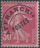 "FRANCE STAMP TIMBRE PREOBLITERE N° 59 "" SEMEUSE 30c ROSE "" NEUF xx TB K079"