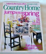 COUNTRY HOME Magazine May 2003 Before & After Home Office: Storage + Style