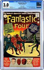 FANTASTIC FOUR# 11 CGC 3.0 UK PRICE VARIANT. UNIVERSAL