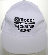 Vtg Mopar Parts Brazil Dodge Chrysler Plymouth Jeep Baseball Hat Snapback Cap