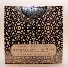 Gianna Rose Atelier Assortiment De Noel Tree & Ornament Shaped Holiday Soaps Box