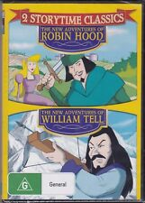 THE NEW ADVENTURES OF ROBIN HOOD - WILLIAM TELL - 2 STORYTIME CLASSICS - DVD