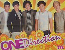 ONE DIRECTION - A2 Poster (XL - 40 x 52 cm) - Fan Sammlung Clippings Ausland USA