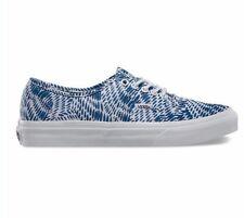 VANS Authentic Slim (Mixed Geo) Navy Skate Shoes WOMEN'S 6