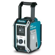 MAKITA radio digitale bluetooth DAB DAB+ am fm mp3 usb + 1batt omaggio DMR115
