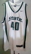 Nike Elite Michigan State Spartans Basketball Jersey #40 Circa 2005 Size Xl
