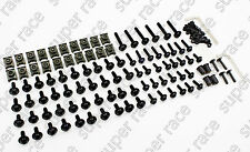 US Black Fairing Bolt Kit body screws Clips For Honda CBR600 F3 1995-1996-97-98